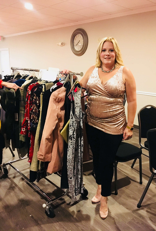 . Julie Centrella, owner of Anie�s Boutique in Reading, which provided the evening�s fashions