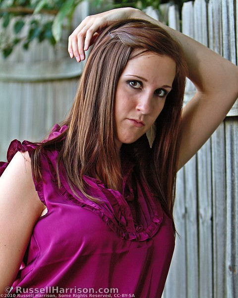 Stephanie was a lot of fun to work with. She is fairly new to modeling but is clearly learning quickly and having fun doing it.