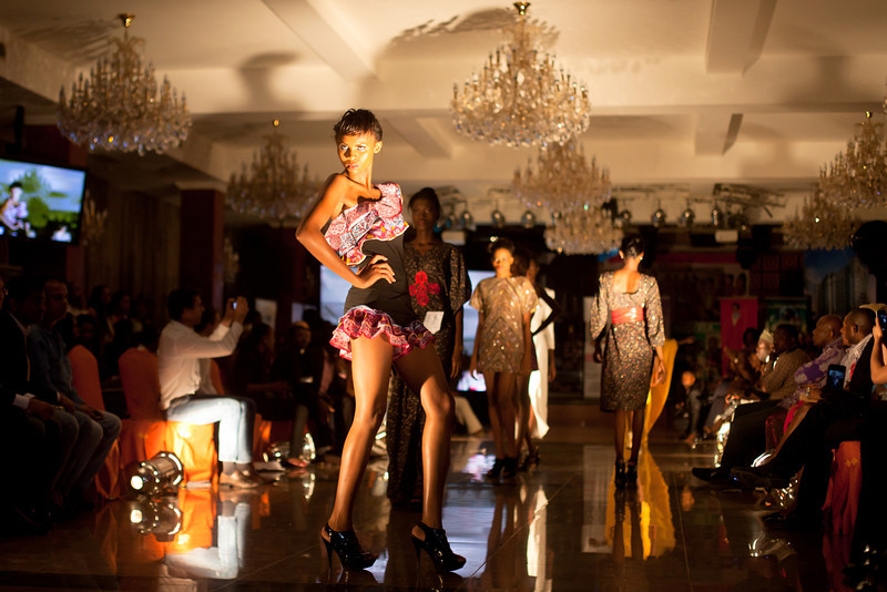 2011 edition of Nigeria's Next Super Model, Oriental Hotel, Lagos, Nigeria.