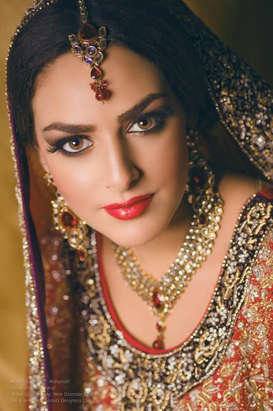 Model: Salsabil F. Mohamad <br /> Fotograf: Zafar Iqbal <br /> Make-up & styling: New Glamour by R.I. <br /> Tøj & smykker: Amtulz Designers Lounge