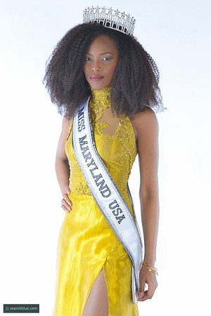Miss Maryland for clean water campaign, Congo TV, MADIFF