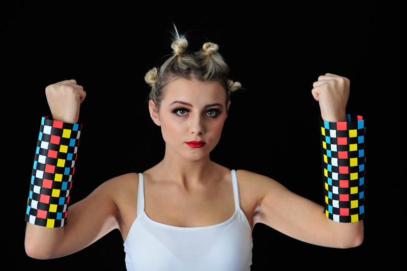 Sallynoggin College of Further Education, Accessory Photo Shoot - 21.10.14. Shot in SCFE. <br /> Year 2 - c/o Deirdre Fitzgerald