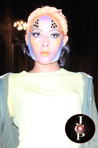 Adrian Alicea SS 2013 Fashion Show - Hybrids of the deep blue sea.