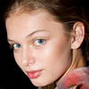 dewy skin with soft lines around the eyes by Maybelline