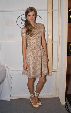 Alexander Berardi Backstage NY Fashion Week Spring 2011