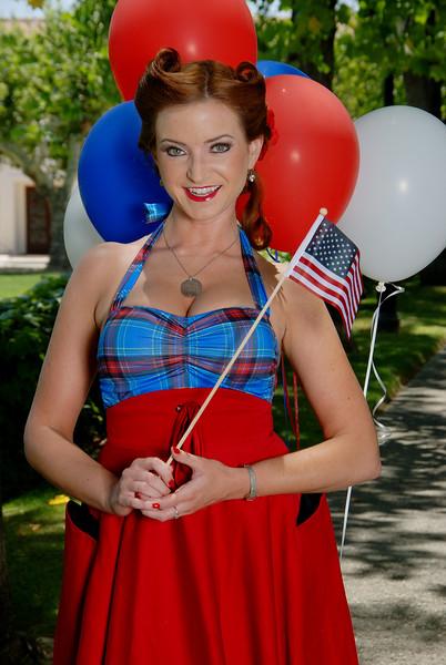 A Patriotic Beauty