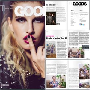Allison Andrews, The GOODS Magazine