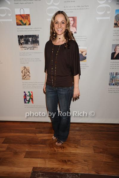 Polya Radovic Oprah Fashion's Night Out Trip winner <br /> photo by Rob Rich © 2010 robwayne1@aol.com 516-676-3939