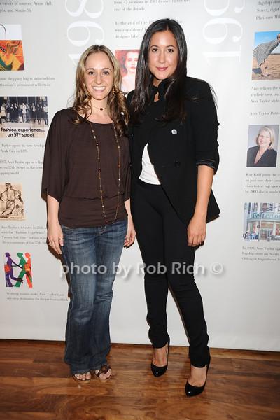 Polya Radovic( Oprah Fashion's Night Out Trip winner), Vanessa Carlton <br /> photo by Rob Rich © 2010 robwayne1@aol.com 516-676-3939
