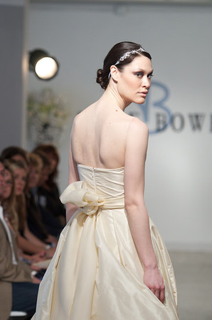 Charity, a champagne silk taffeta ball gown with crystal and satin faced organza belt, from Anne Bowen's Spring 2013 Collection called Coat of Arms.