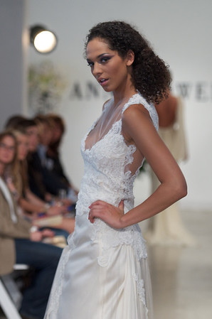 Vicereine, an ivory lace appliqué gown, from Anne Bowen's Spring 2013 Collection called Coat of Arms.