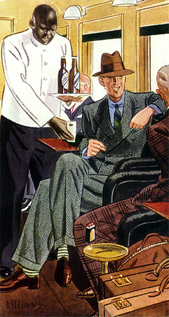 Apparel Arts - Fellows, Laurence 163 - 1933 Green Tweed Suit