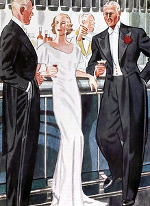 Apparel Arts - Fellows, Laurence 169 - Tuxedo - Schmoozing Lady