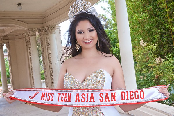 Dania Marie Mumtaz, Ms. Teen Asia San Diego (2016)