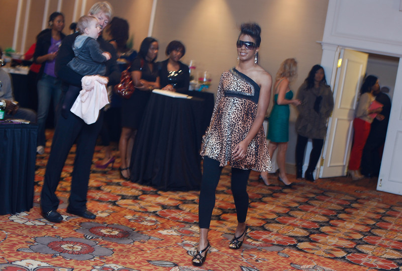 Baby Bash & Bling Fashion show October 22, 2011 in Silver Spring, MD at the Crowne Plaza.