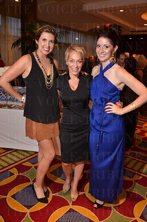 Whitney Tinsley, Terri Waller and Jillian King from Blink Boutique.
