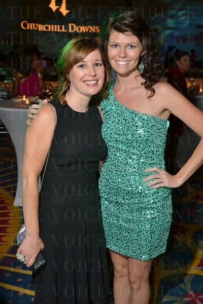 Stephanie Geddes and Bridgette Borraga.