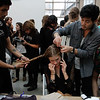 Backstage at Band of Outsiders SS 2012