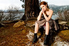 Dress: Elizabeth Lee Designs<br /> Boots: Call It Spring<br /> <br /> Model/MUA: Brittni Alyse Laza<br /> Hair: Taylor Gee<br /> Photographer: JD<br /> Location: Big Bear, CA