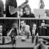 Bill Reid Backstage NYFW SS 2012