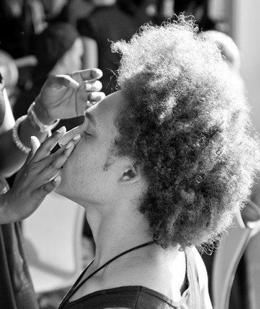 Billy Reid Backstage - NYFW SS 2012 B&W E Hyman