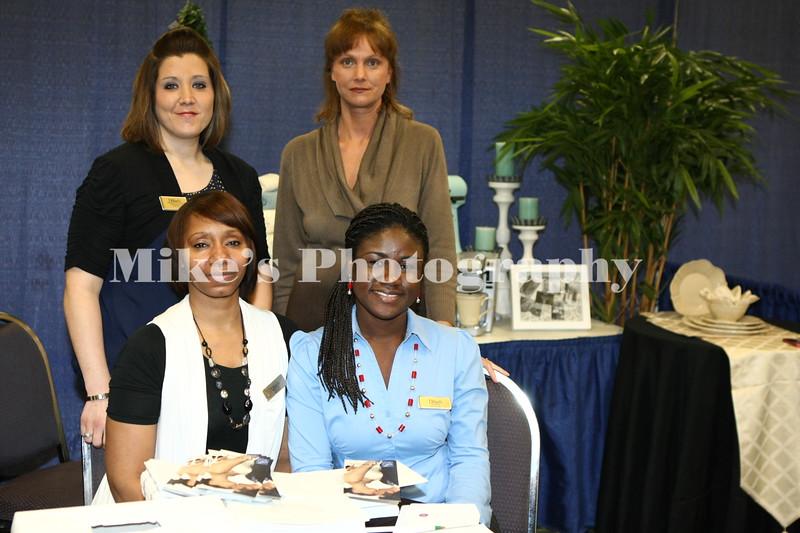 Front Felicisa Collins, Rejoice Hohoaby 2nd row Jennifer Watson, Tnay Sharp from Dillards