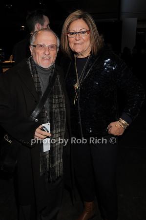 Stanley Herman, Fern Mallis photo by Rob Rich © 2010 robwayne1@aol.com 516-676-3939