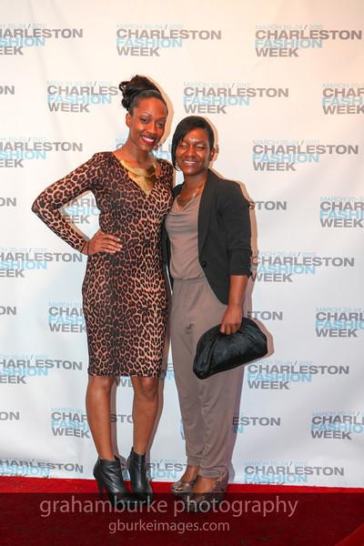 Charleston Fashion Week 2012 - Saturday Red Carpet