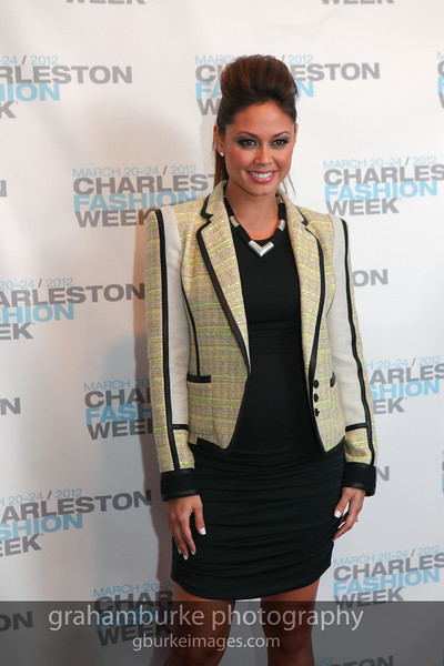 Charleston Fashion Week 2012 - Saturday Red Carpet: Vanessa Minnillo