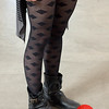 Photo by Tessa Morris<br /> <br /> In this scene: I love the patterned tights! They were purchased in France.