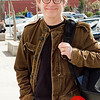 Photo by Tessa Morris<br /> <br /> In this scene: Brook Hinton is a professor for film at CCA. His jacket is from Bloomingdales and his glasses are from Modo.com.