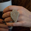 Photo by Tessa Morris<br /> <br /> In this scene: This stone ring is one of Hannah's personal creations.