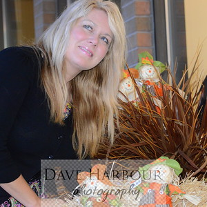 Jennifer Christianson, models Halloween Display, Model Release Available