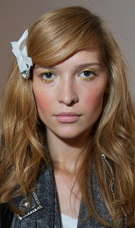 Christian Soriano Backstage SS 2012