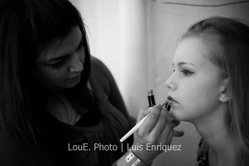 LouEPhoto Clothing Show Backstage May 2011-2