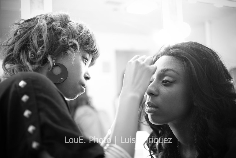LouEPhoto Clothing Show Backstage May 2011-16