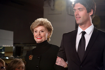 Joyce Mitchell was named to the Ten Best Dressed Women of Dallas' Hall of Fame during the Michael Kors fashion show at Neiman Marcus on 9-22-09.