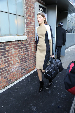DKNY Fall Collection 2013  ( Backstage ) 02/10/13