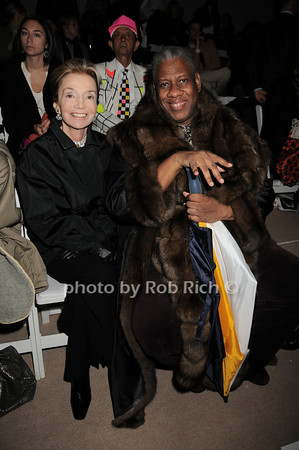 Lee Radzwill, Andre Leon Tally<br />  photo  by Rob Rich © 2010 robwayne1@aol.com 516-676-3939
