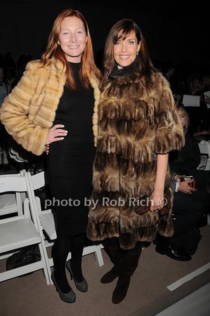 Maggie Rizer, Carol Alt<br />  photo  by Rob Rich © 2010 robwayne1@aol.com 516-676-3939