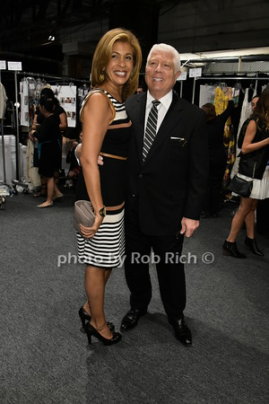 Hoda Kotb, Dennis Basso photo by Rob Rich/SocietyAllure.com © 2015 robwayne1@aol.com 516-676-3939