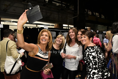 Hoda Kotb and a selfie photo by Rob Rich/SocietyAllure.com © 2015 robwayne1@aol.com 516-676-3939