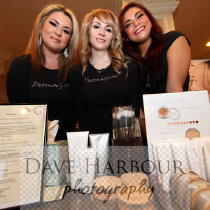 Dermaglow ladies: Tara Mayo, Diane Lytle, Seanie Maddux