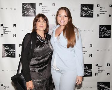 Laura and Bernadette Denoux