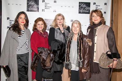 Rita Cabases, Damaris Martinez, Elizabeth Suero, Barbara Antonorsi and Lourdes Jofre-collett