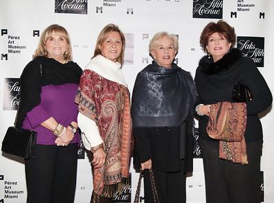 Anita Torrez De La Navarra , Pilar Portugondo, Carolina Milanes and Marta Tapia