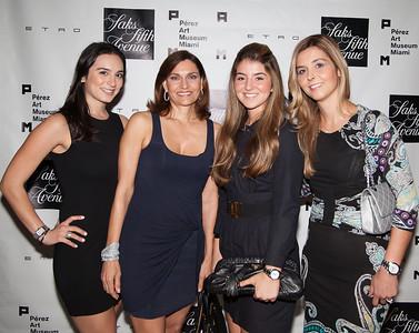 Gigi Guerra, Gigi V. Guerra, Natalia Yidi and Claudia Yidi