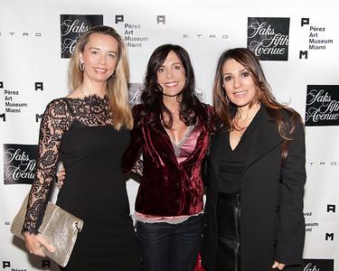 Lourance Stot, Vivian Del Rio and Silvia Boscheri