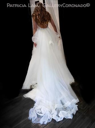 Back of wedding dress 6699