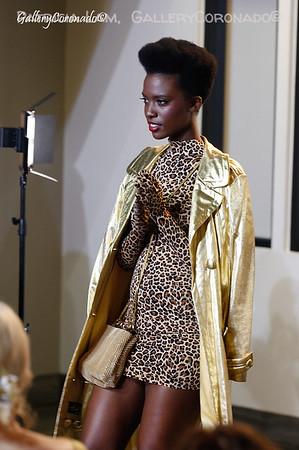 Edify Fashion Show-bk leopard model gold 7102